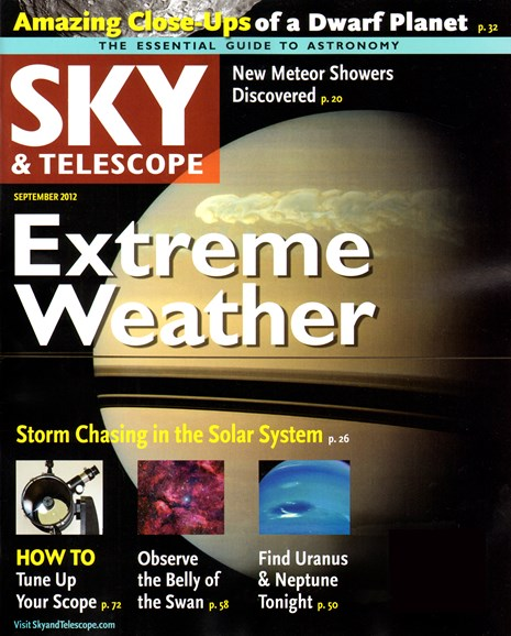 Sky & Telescope Cover - 9/1/2012