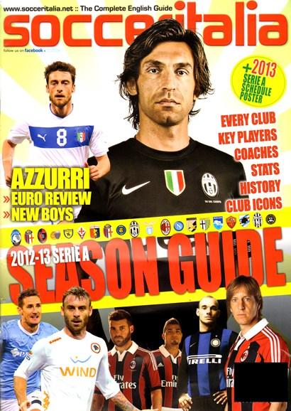 Soccer Italia Cover - 9/1/2012