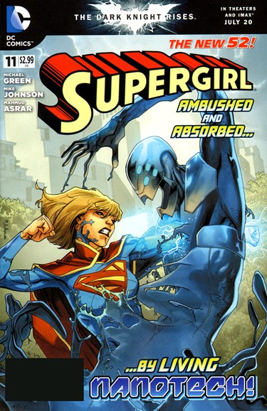 Supergirl Cover - 9/1/2012