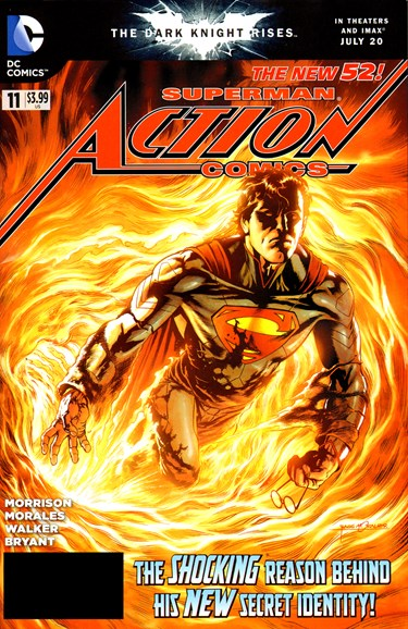 Action Comics Cover - 9/1/2012