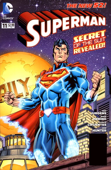 Superman Cover - 9/1/2012