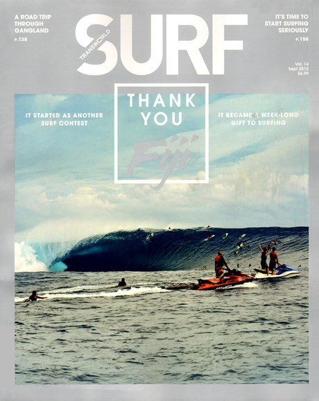 Transworld SURF Cover - 9/1/2012