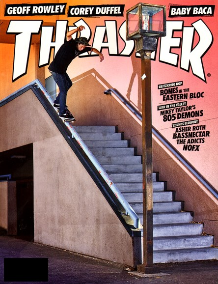 Thrasher Cover - 9/1/2012