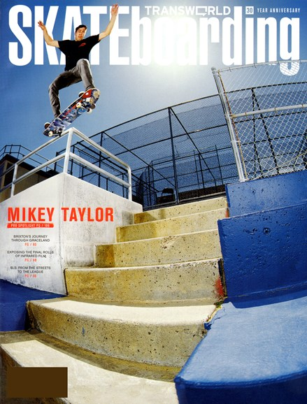 Transworld SKATEboarding Cover - 9/1/2012