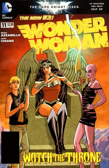 Wonder Woman Cover - 9/1/2012
