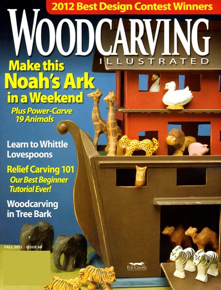 Wood Carving Illustrated Cover - 9/1/2012
