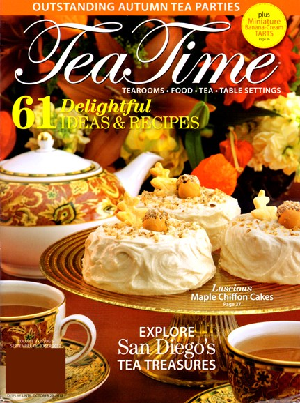 Tea Time Cover - 9/1/2012