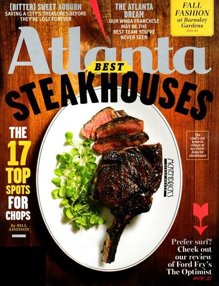 Atlanta Magazine Cover - 9/1/2012