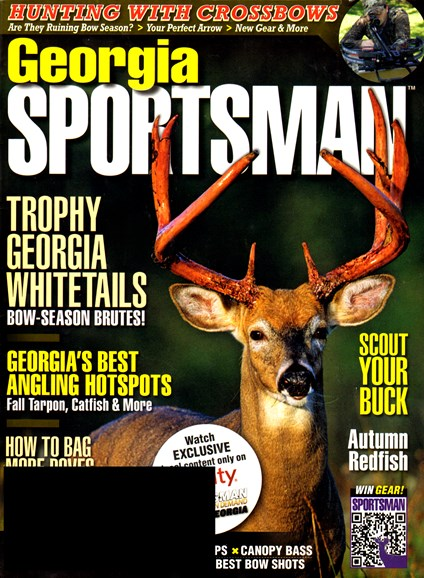 Georgia Sportsman Cover - 9/1/2012