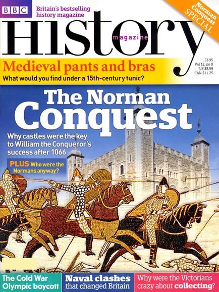 BBC History Cover - 8/1/2012