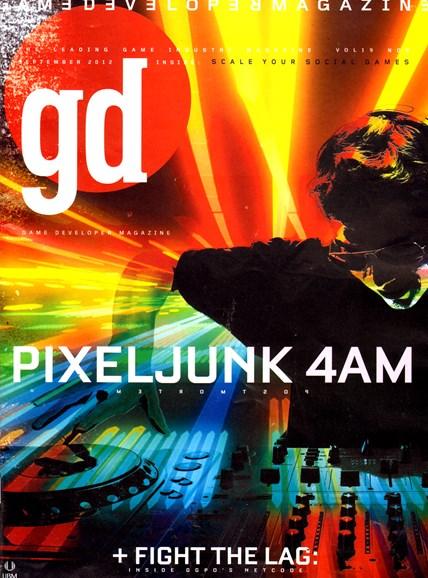 Game Developer Cover - 9/1/2012
