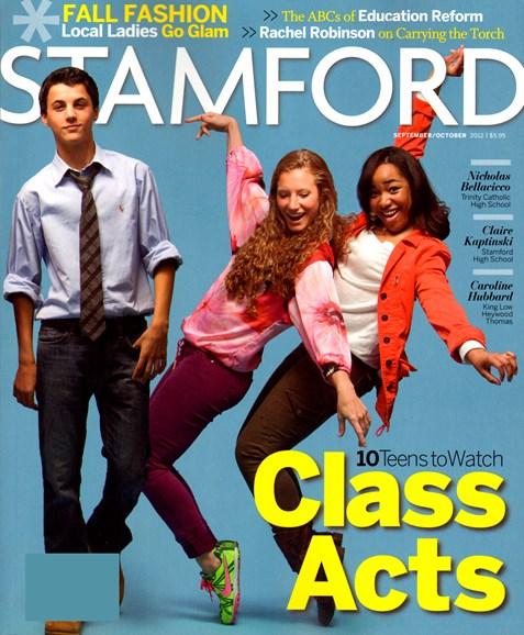 Stamford Magazine Cover - 9/1/2012