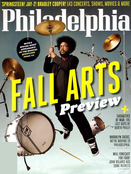 Philadelphia Magazine Cover - 9/1/2012