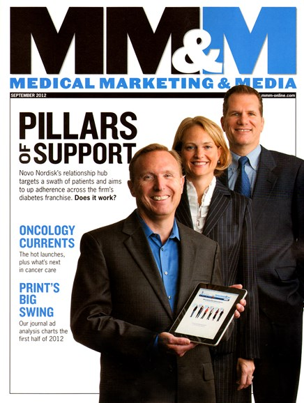 Medical Marketing & Media Cover - 9/1/2012