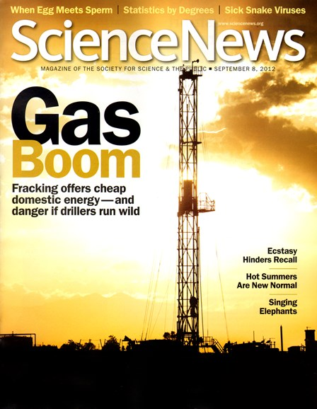 Science News Cover - 9/8/2012