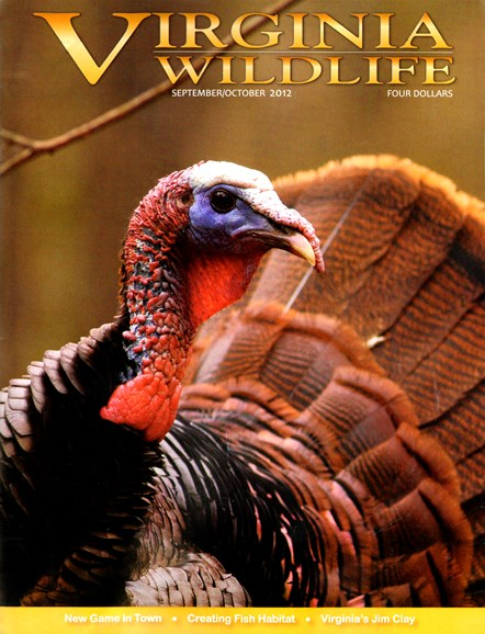 Virginia Wildlife Cover - 9/1/2012
