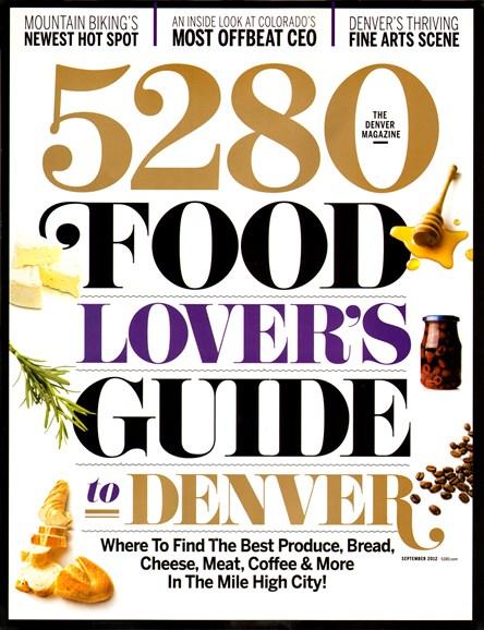 5280 Magazine Cover - 9/1/2012