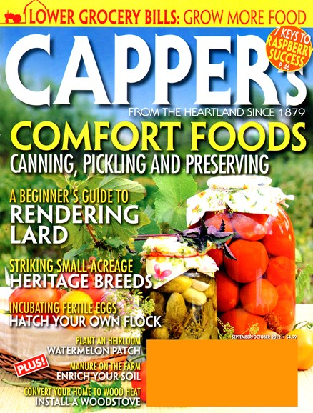 Capper's Cover - 9/1/2012