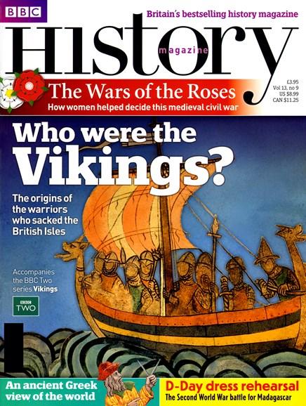 BBC History Cover - 9/1/2012