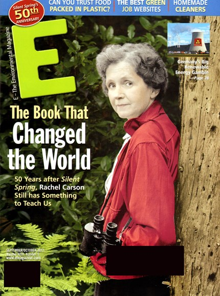 E: The Environment Magazine Cover - 9/1/2012