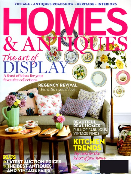 Homes & Antiques Cover - 9/1/2012