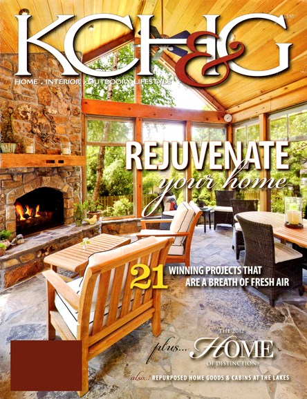 Kansas City Homes & Gardens Cover - 9/1/2012