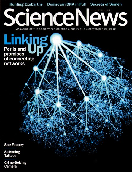 Science News Cover - 9/22/2012