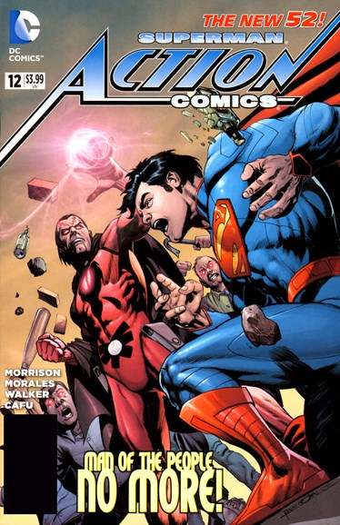 Action Comics Cover - 10/1/2012