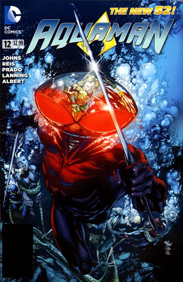 Aquaman Cover - 10/1/2012