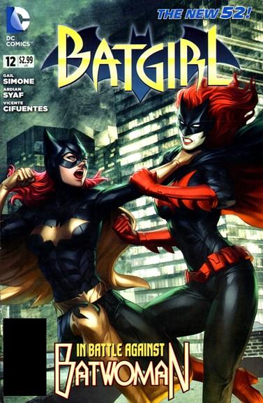 Batgirl Cover - 10/1/2012