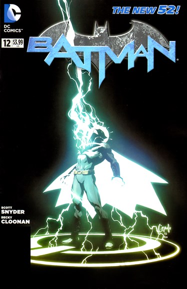 Batman Cover - 10/1/2012