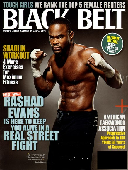 Black Belt Magazine Cover - 10/1/2012