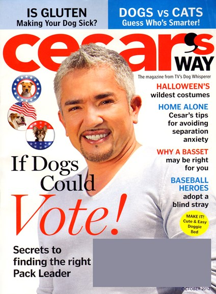 Cesar's Way Cover - 10/1/2012
