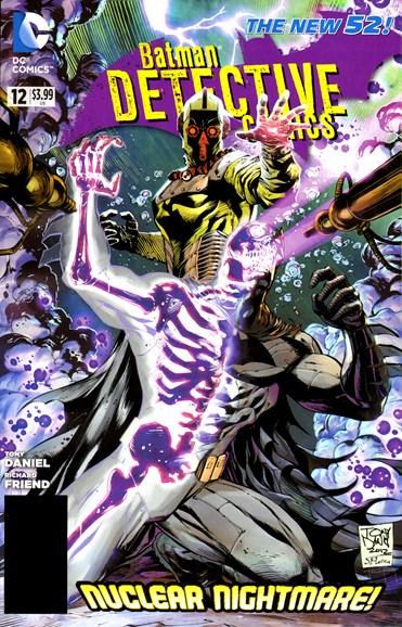 Detective Comics Cover - 10/1/2012