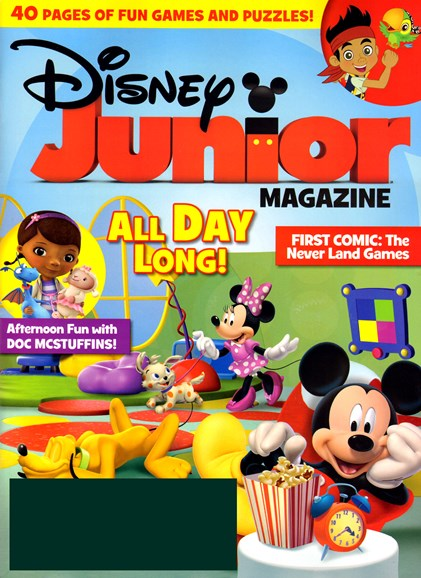 Disney Junior Cover - 10/1/2012