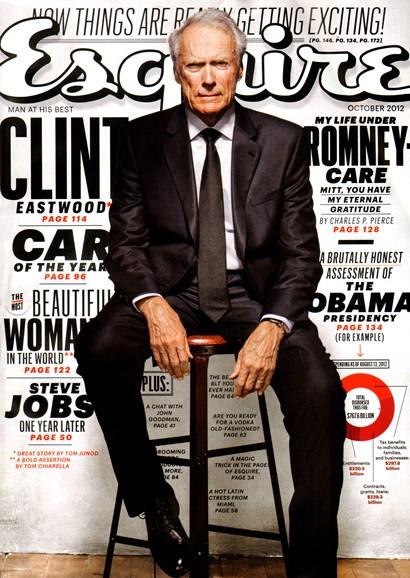 Esquire Cover - 10/1/2012