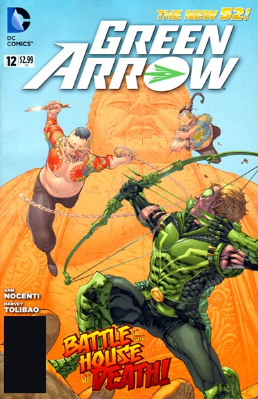 Green Arrow Cover - 10/1/2012