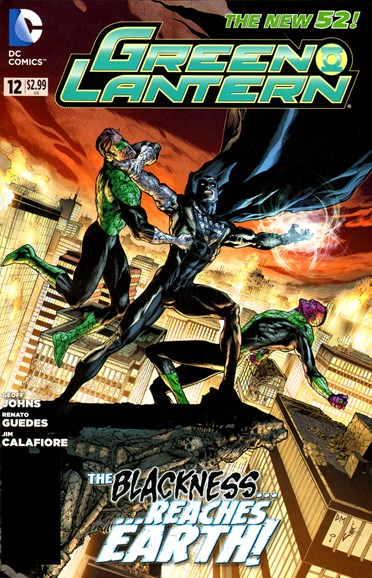 Green Lanterns Cover - 10/1/2012
