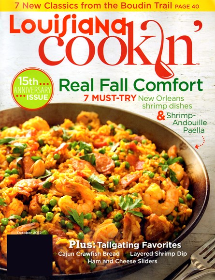Louisiana Cookin' Cover - 10/1/2012