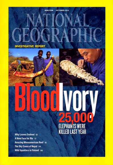 National Geographic Cover - 10/1/2012