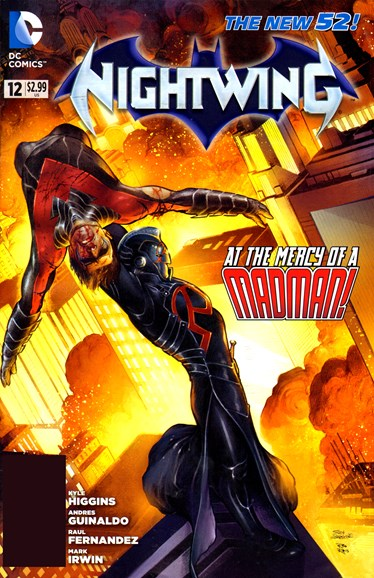 Nightwing Cover - 10/1/2012