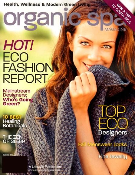 Organic Spa Cover - 10/1/2012
