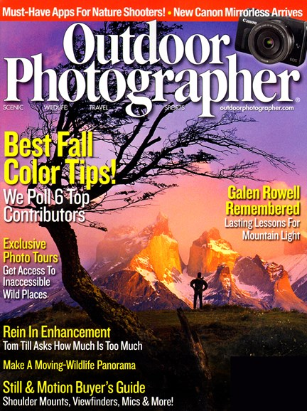 Outdoor Photographer Cover - 10/1/2012