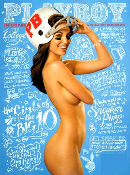 Playboy Cover - 10/1/2012
