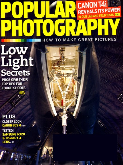 Popular Photography Cover - 10/1/2012