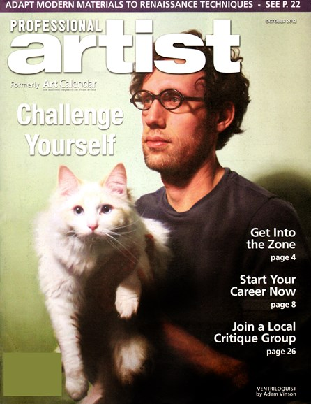 Professional Artist Cover - 10/1/2012