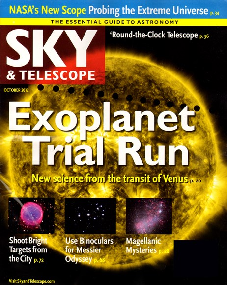 Sky & Telescope Cover - 10/1/2012