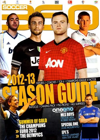 Soccer 360 Cover - 10/1/2012