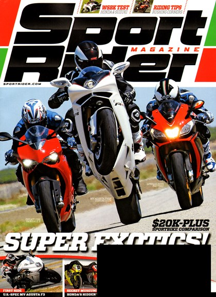 Sport Rider Cover - 10/1/2012