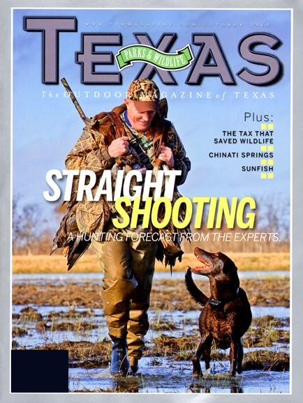 Texas Parks & Wildlife Cover - 10/1/2012